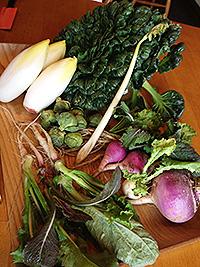 イーズは野菜にこだわります